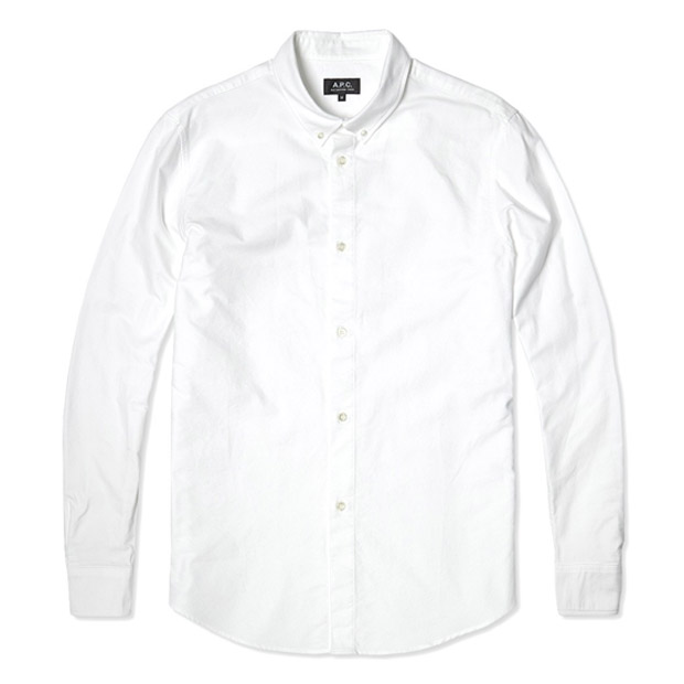 A.P.C. Oxford Button Down Shirt