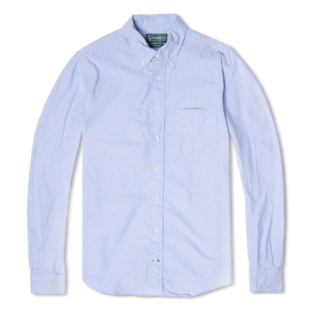 gitman bros vintage oxford shirt