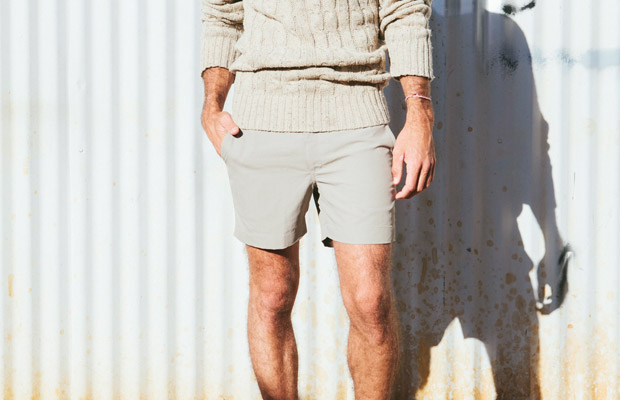 Mocha Salt Swim Shorts