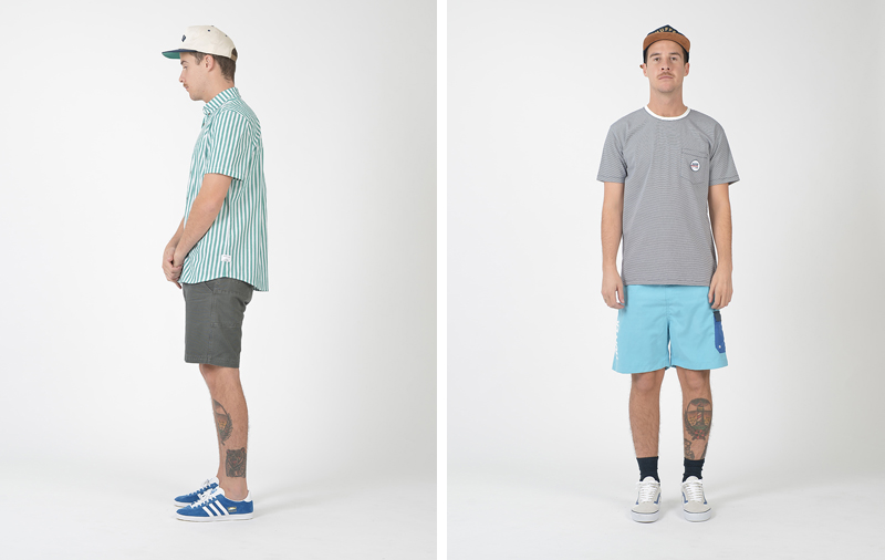 Huffer Summer '14 Lookbook