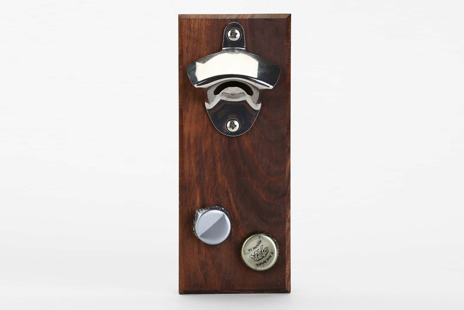 Wood Thumb Magnetic Bottle Opener
