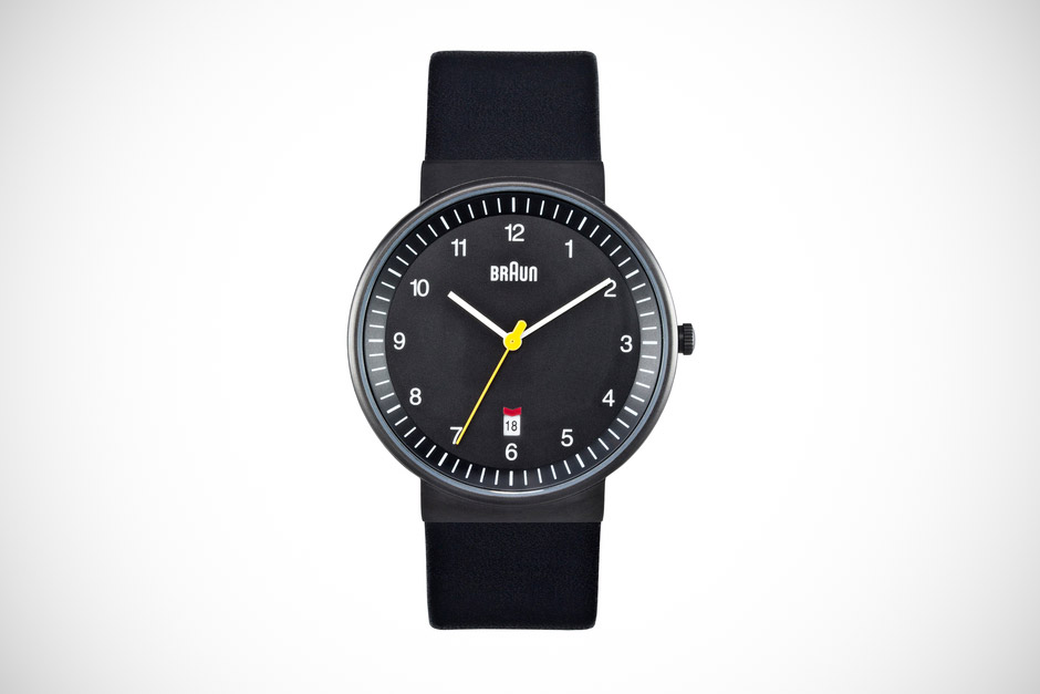Braun Analog Date Watch