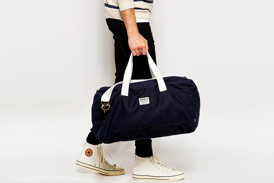 Jack Wills Southbury Canvas Holdall
