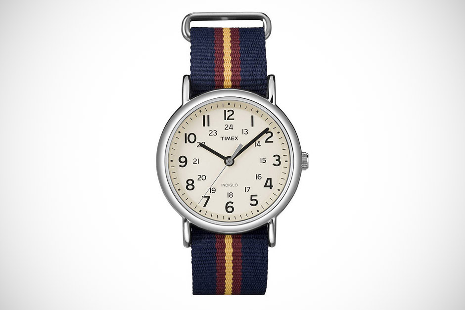 TIMEX WEEKENDER SLIP THROUGH WATCH