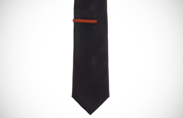 Ben Sherman Wood Tie Bar
