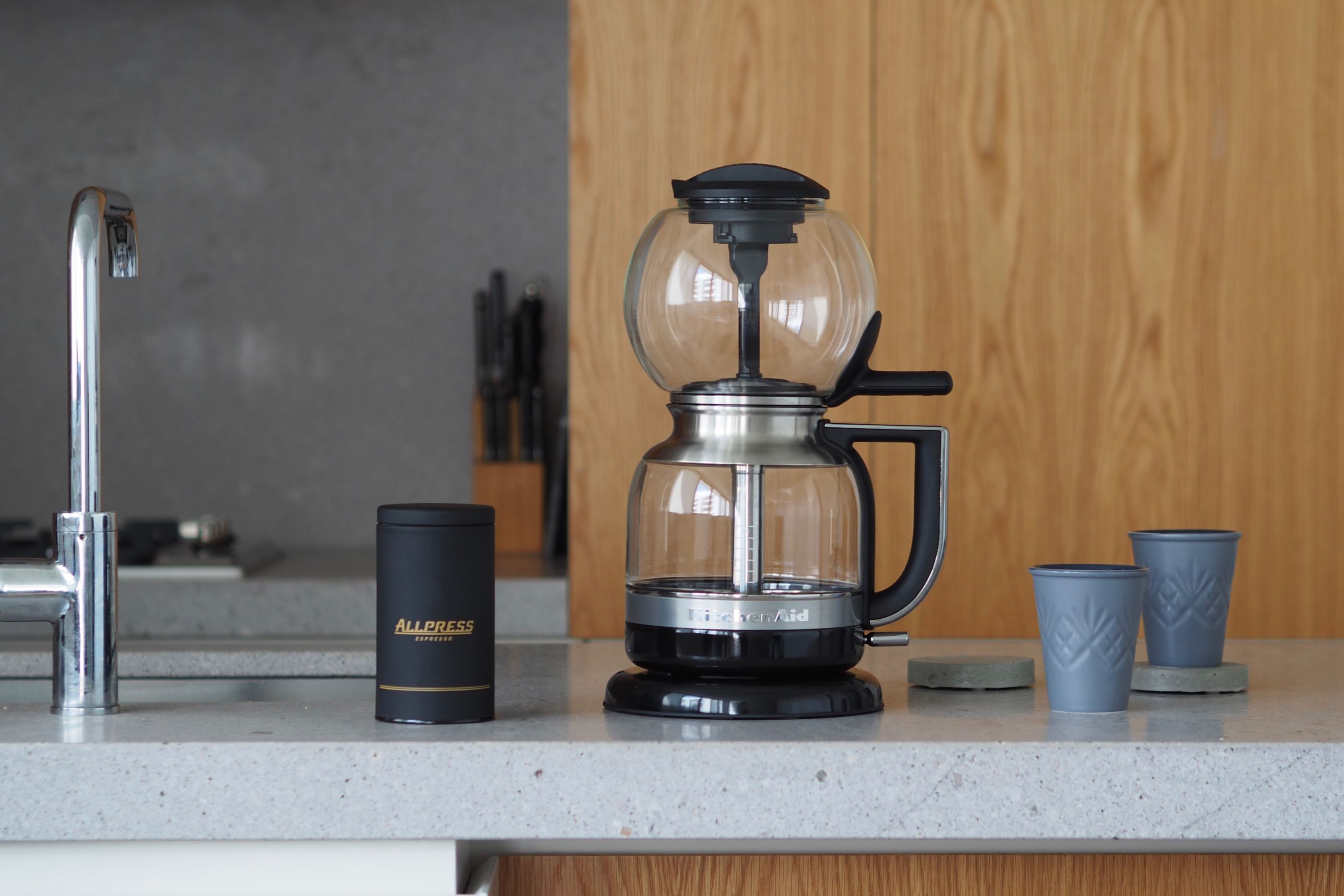 Kitchenaid Siphon Coffee Brewer Review Giveaway Hey Gents Syphon Maker Electric