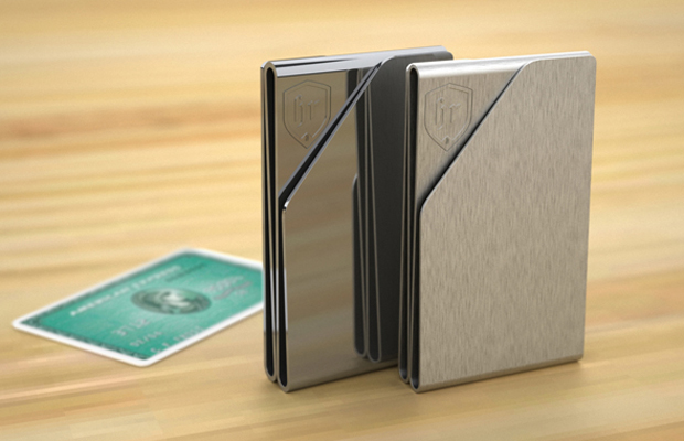 minimalist money clip wallets