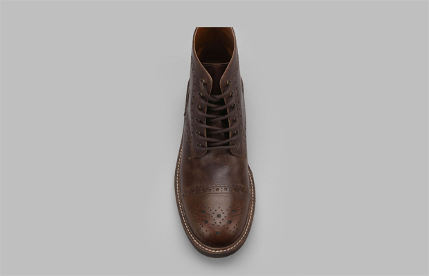 Smooth Leather Hawkings Boots