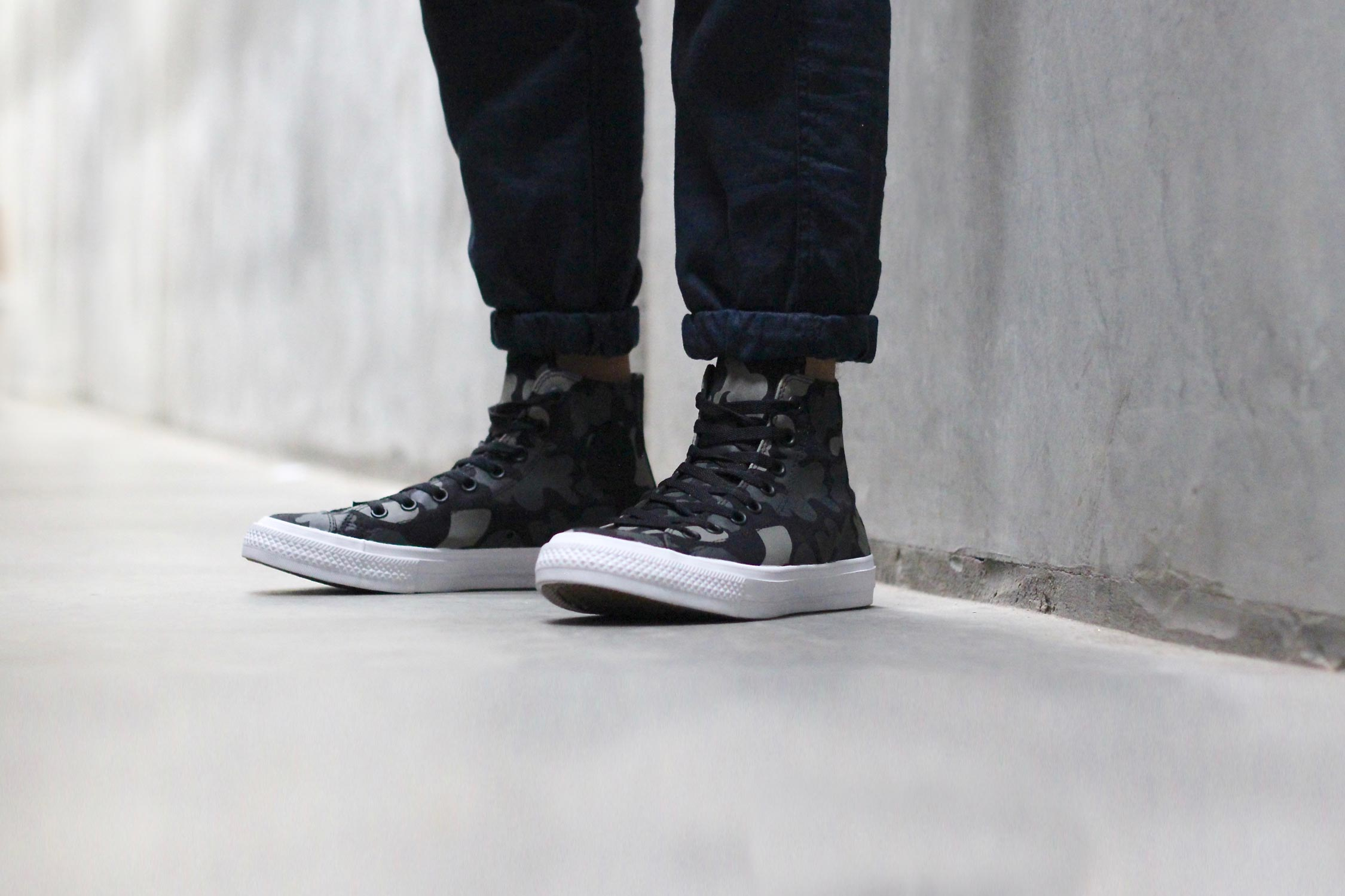 cc493d504f4e Converse Chuck Taylor All Star II Reflective Print Collection - HEY ...