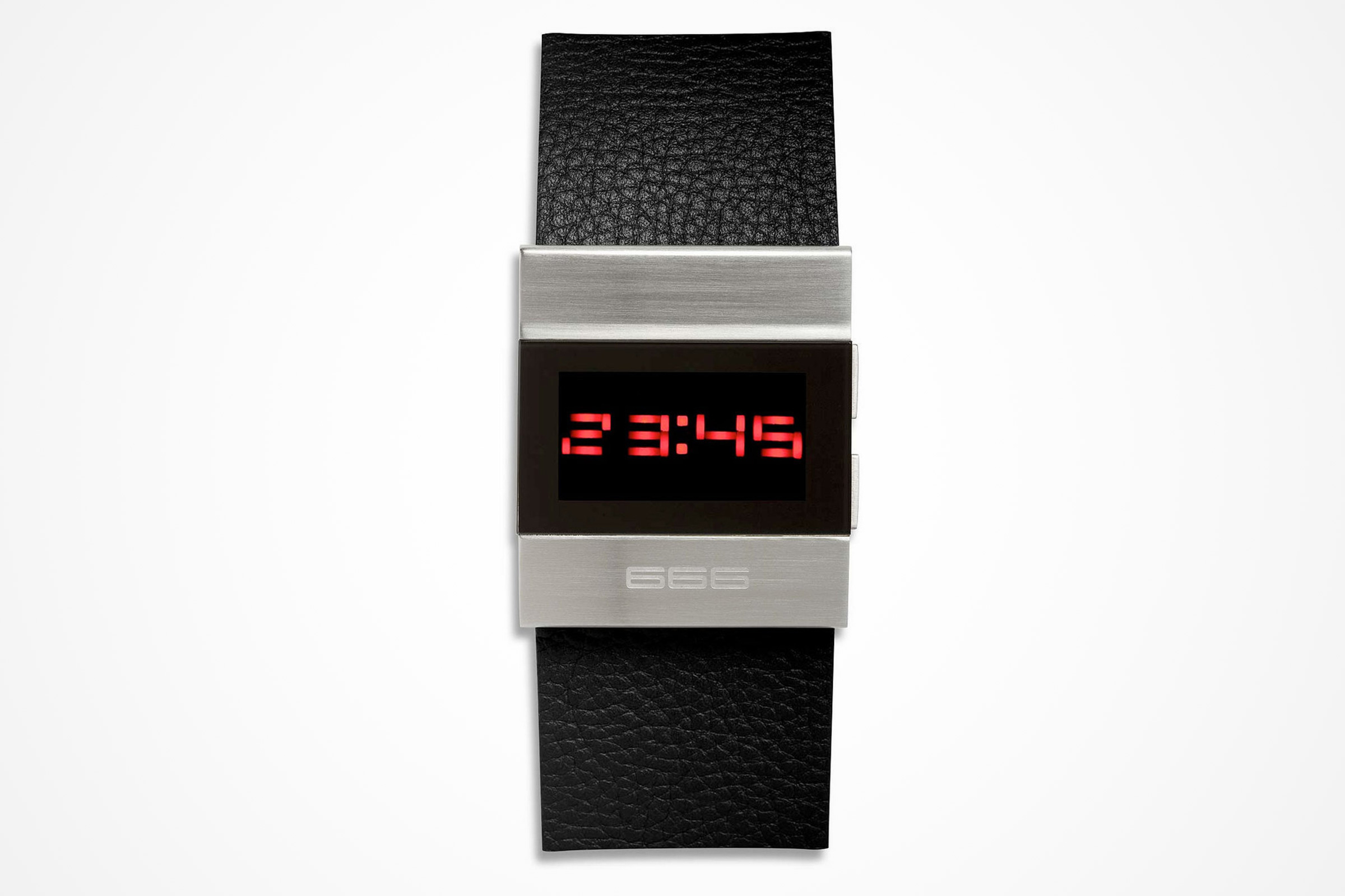 0e102f670134 ... watch by 666 Barcelona features on-command light-emitting diodes. 7  Attractively Minimal Digital Watches