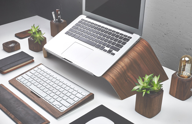 Handcrafted Wooden Laptop Accesories