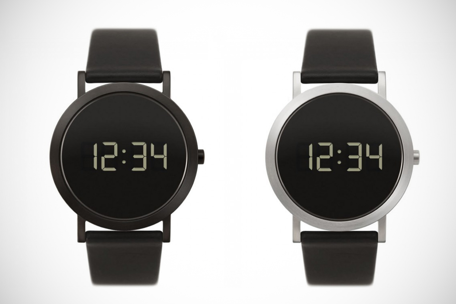 7 Attractively Minimal Digital Watches - HEY GENTS