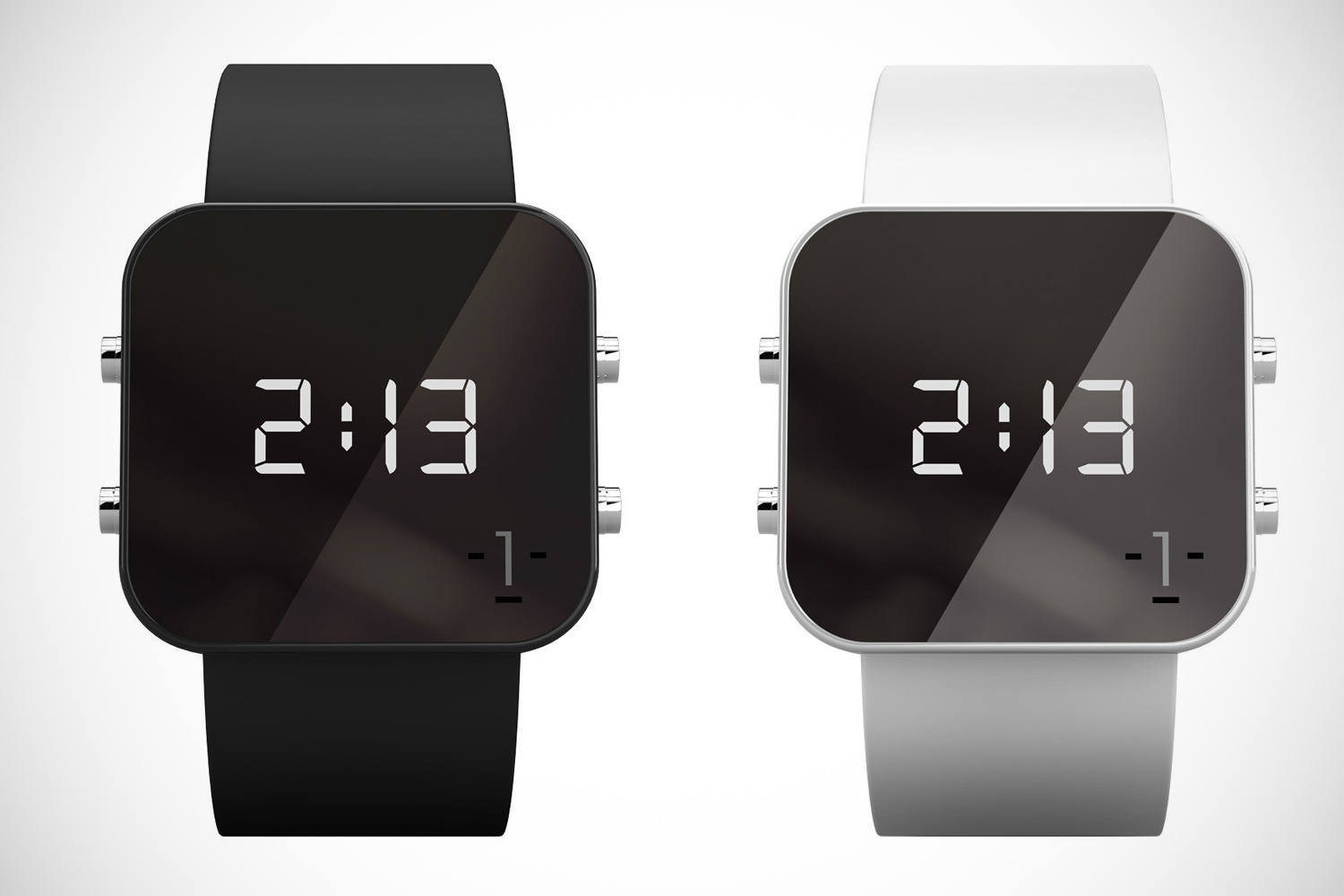 minimal digital watches