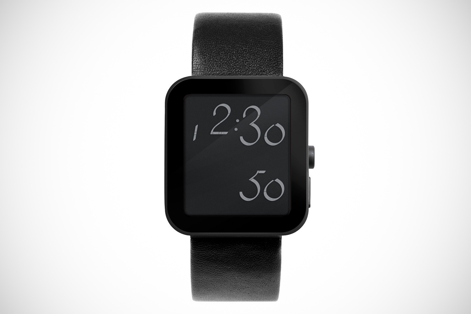 Script Digital Watch