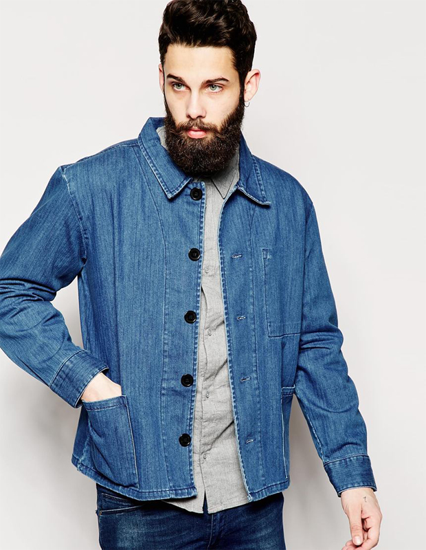 Mid weight denim jacket