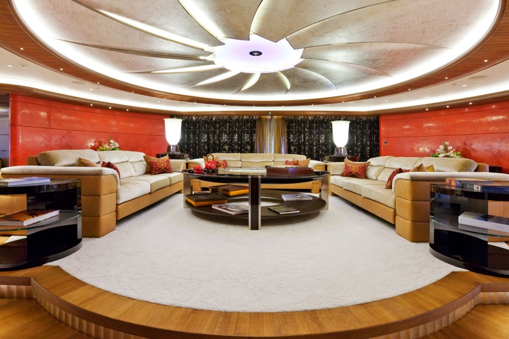 Inside The Serene Super Yacht Of A Russian Vodka Tycoon
