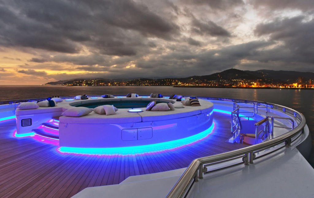 Inside The Superyacht Of A Russian Vodka Tycoon