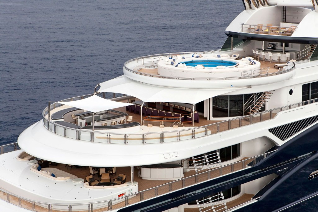 A Look Inside The Luxury Superyacht Of A Russian Vodka Tycoon
