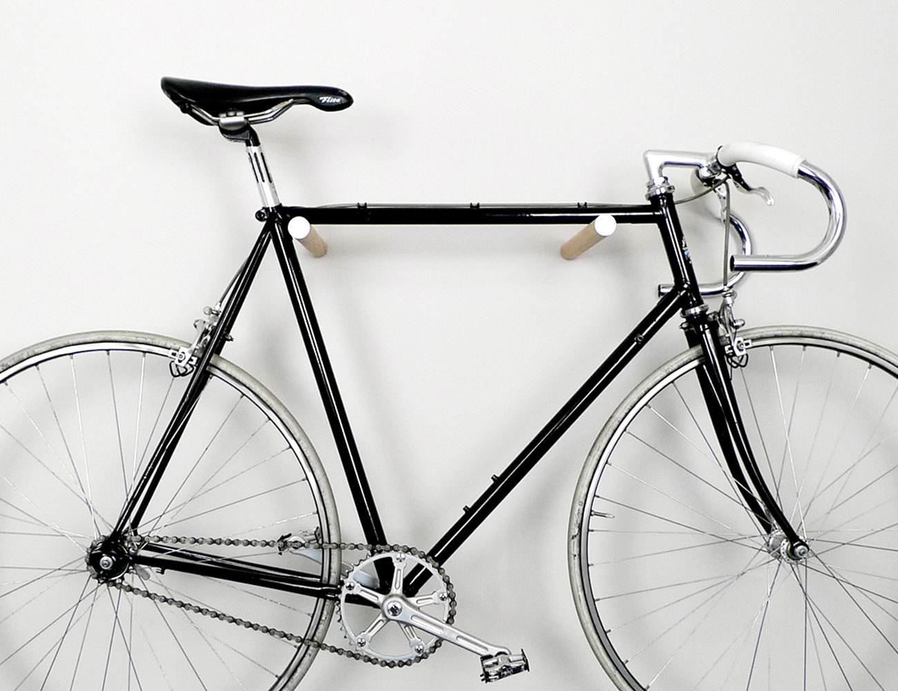 Simple Wooden Bike Hooks By Fluo Hey Gents