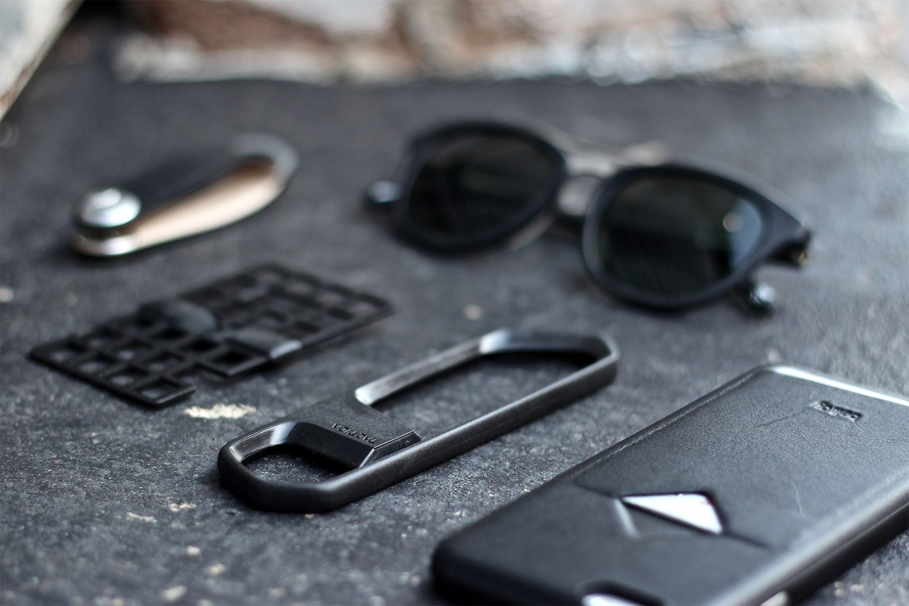 Sleek Black Accessories For Men