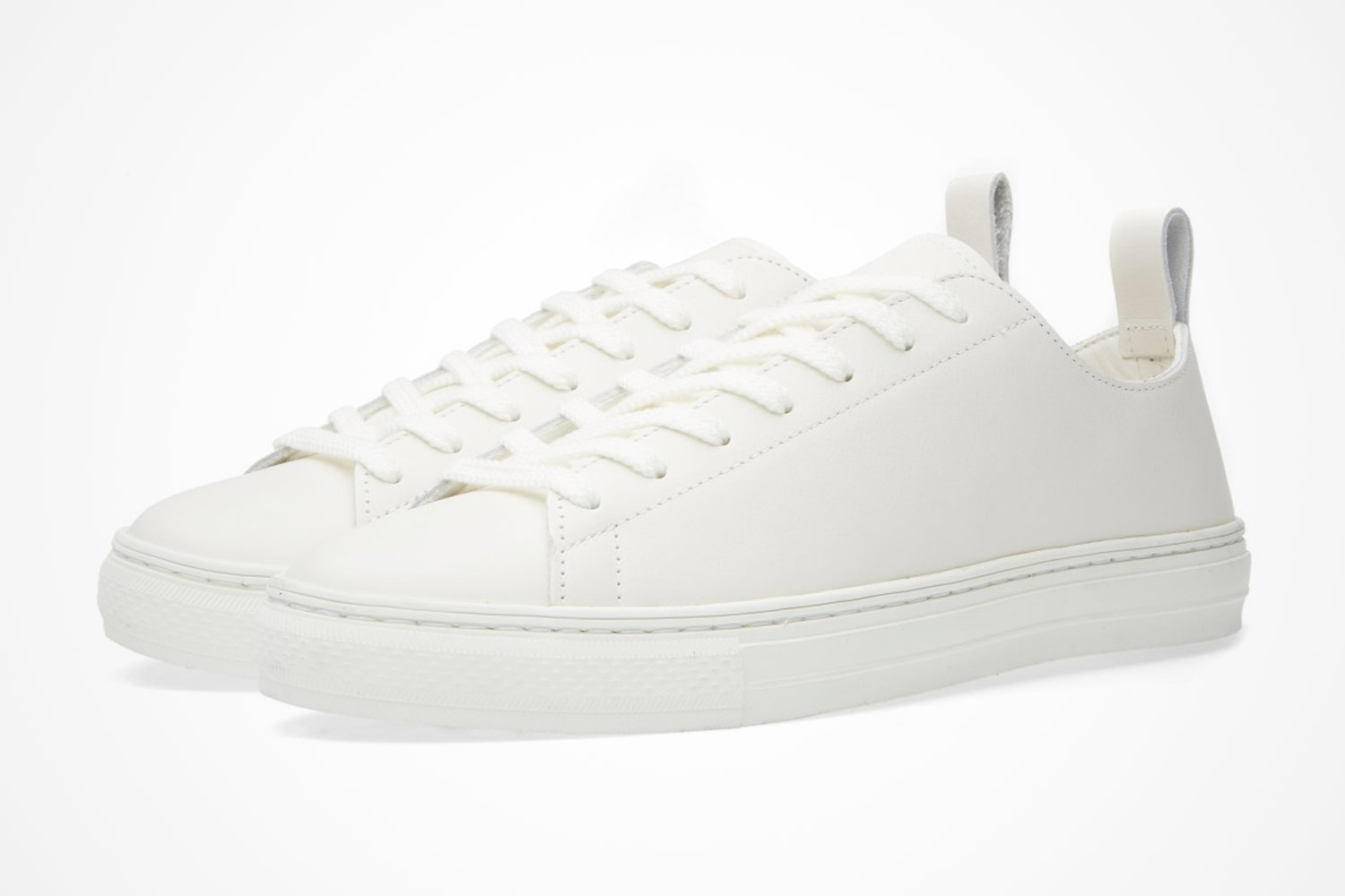 Mens Leather Uppers Sneaker