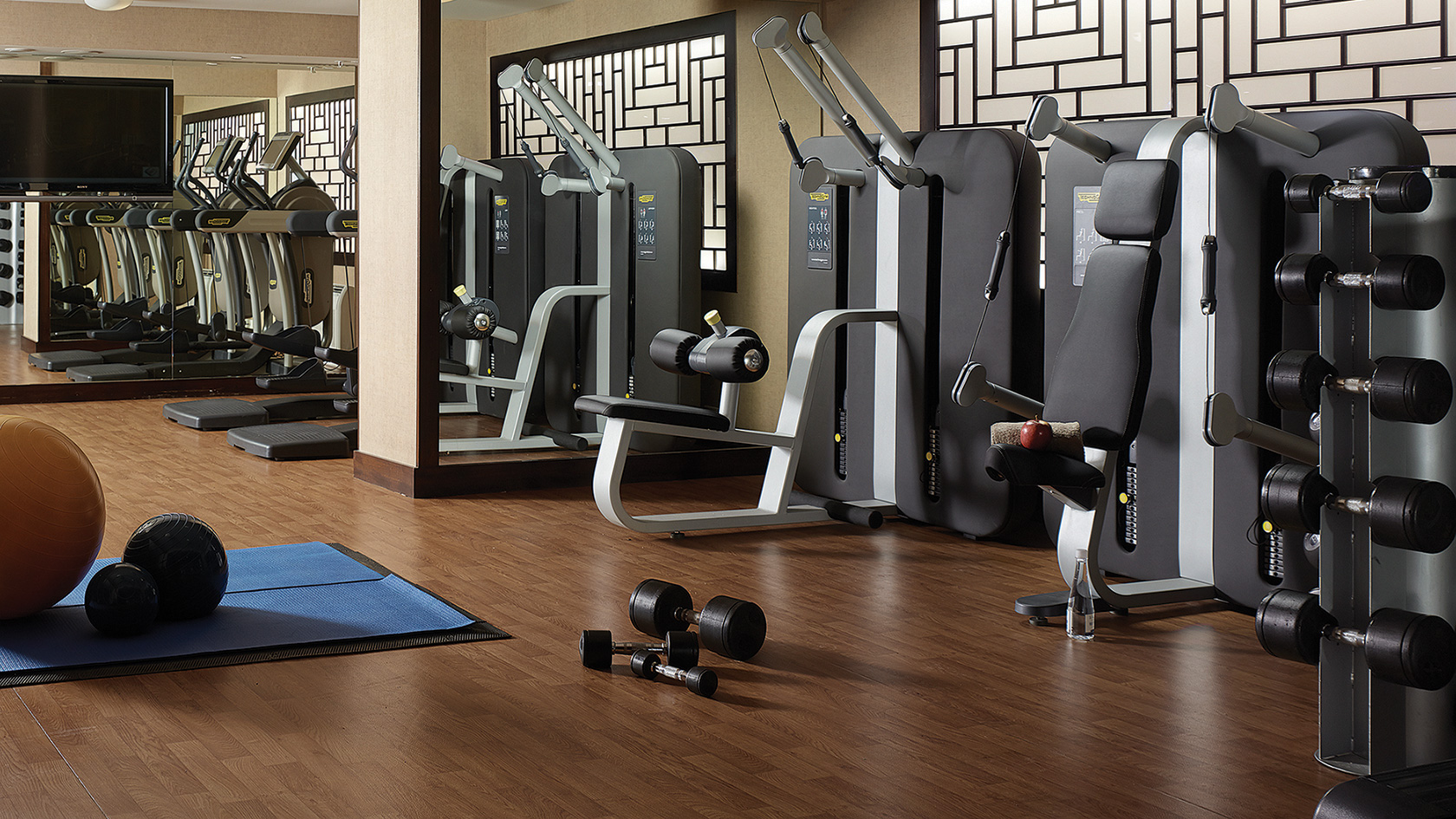 The langham auckland 39 s finest hotel hey gents for Salon fitness