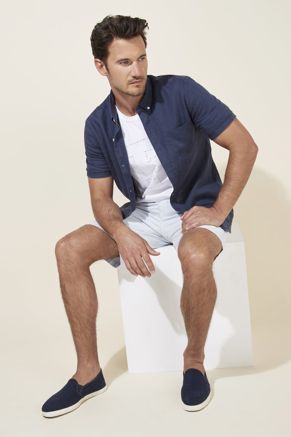 Relaxed Tailoring For Summer | Destination Resort French Connection