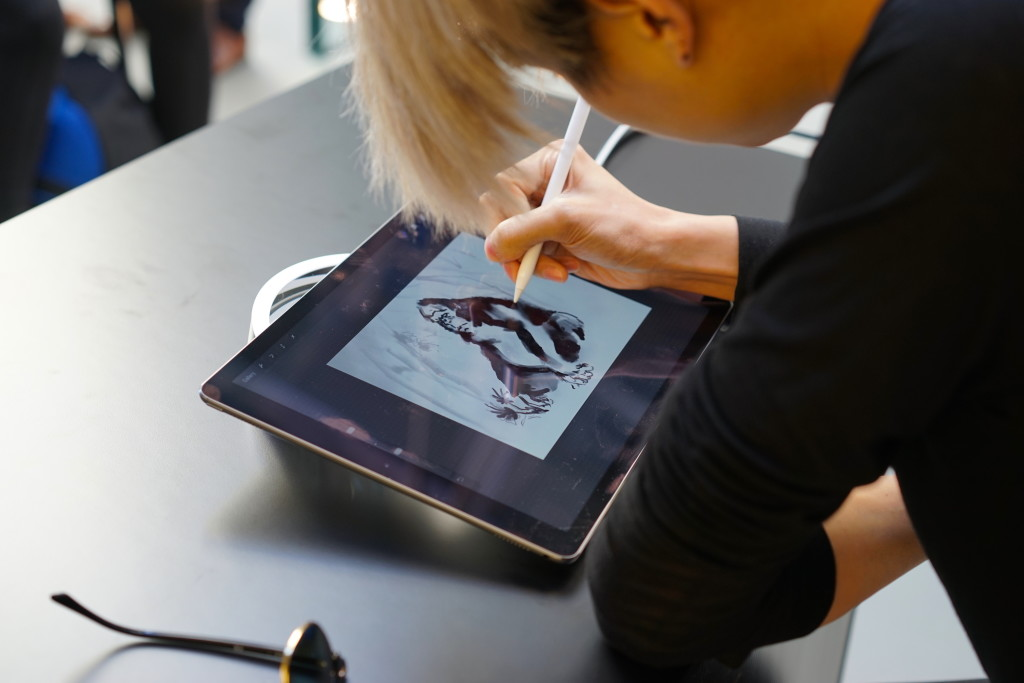 Artist, Matt Huynh takes on the Apple Pencil