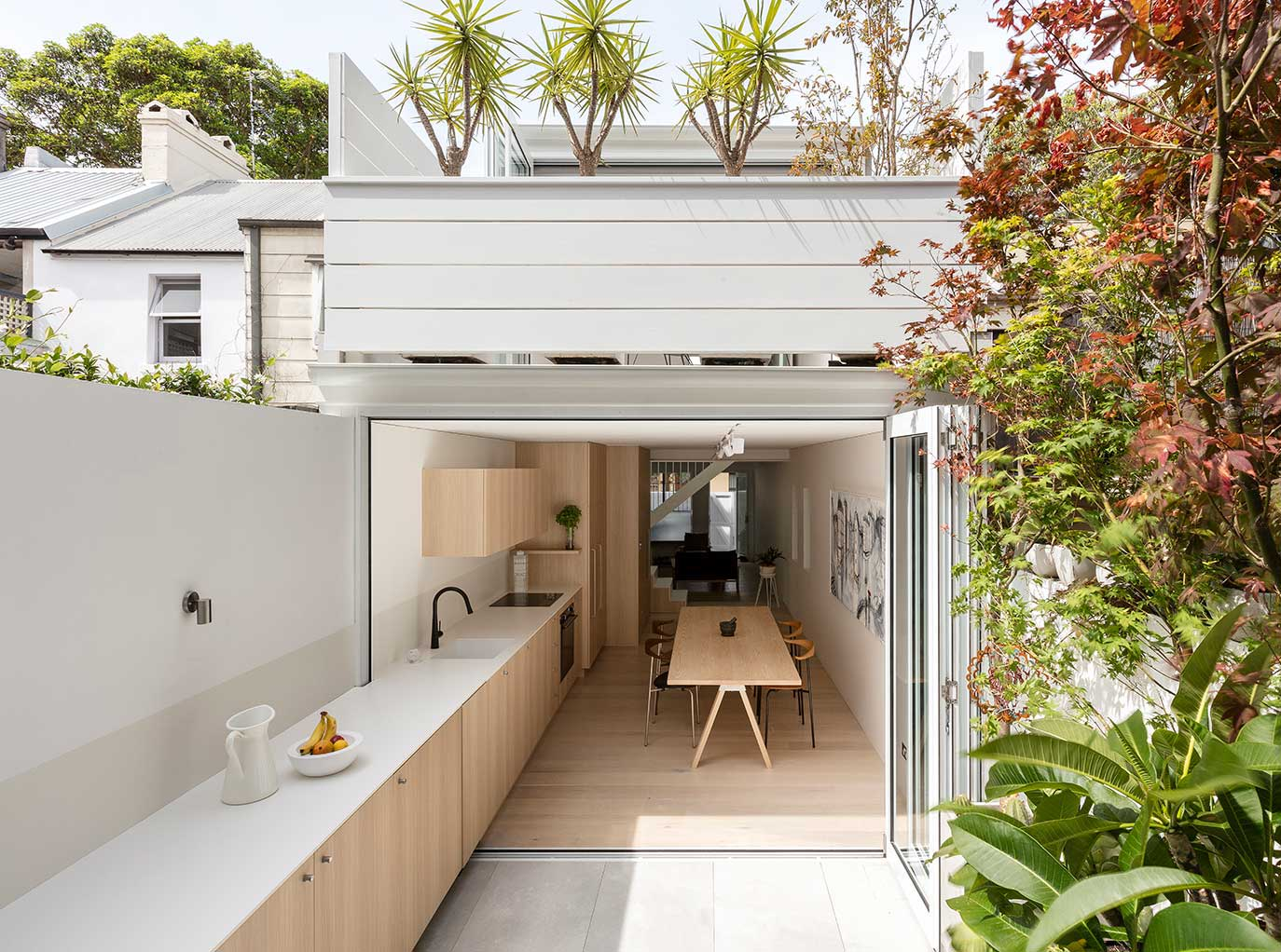 Open Plan Terrace In Surry Hills