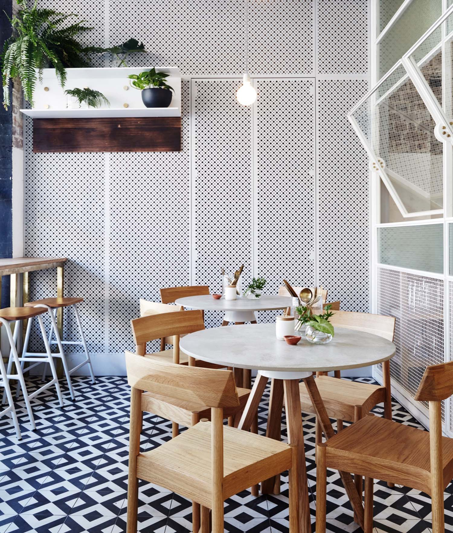 Organic Tea Bar In Redfern By Matt Woods Design