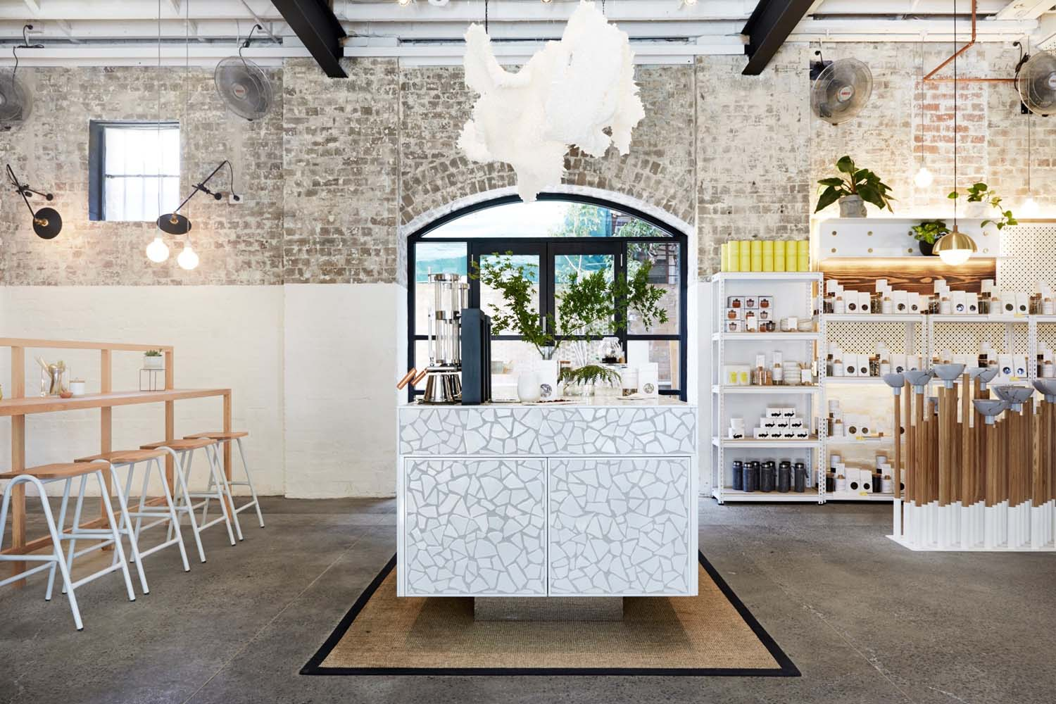 The Rabbit Hole Organic Tea Bar In Redfern By Matt Woods Design