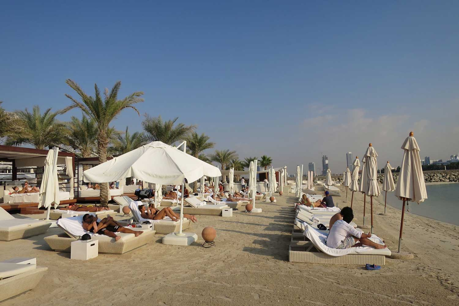 EDEN Beach Club Dubai Review