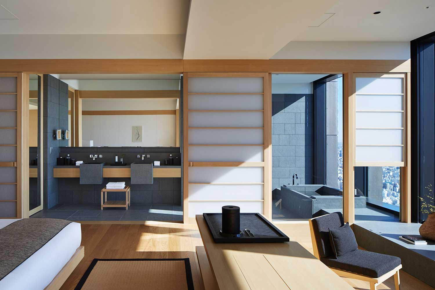 Aman Tokyo A Secluded Retreat In The Middle Of City