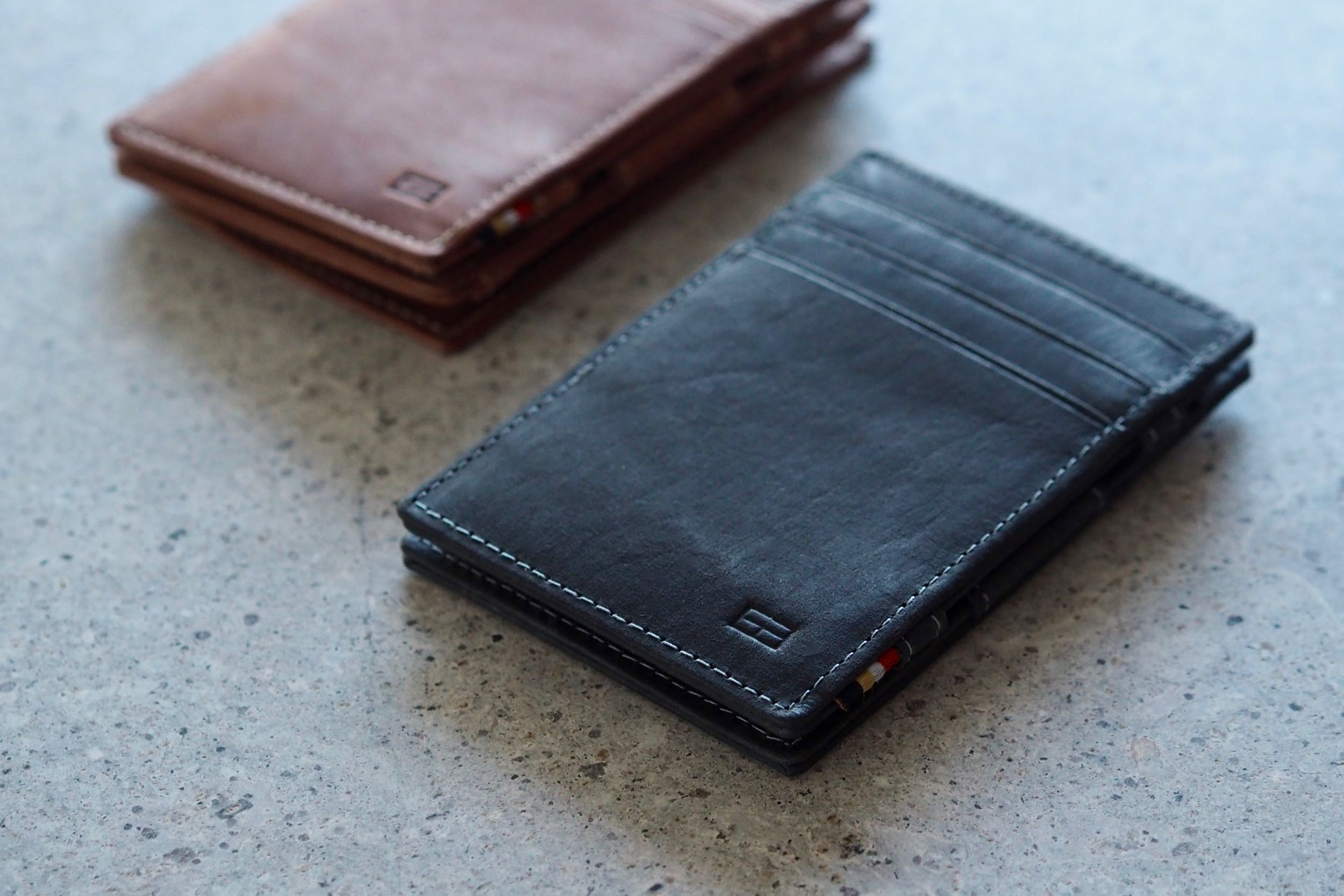 Garzini Slim Leather Wallets Review - HEY GENTS