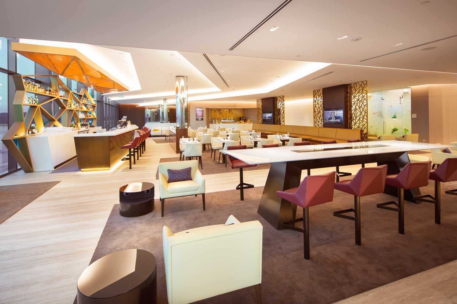 Etihad Airways Premium Lounge