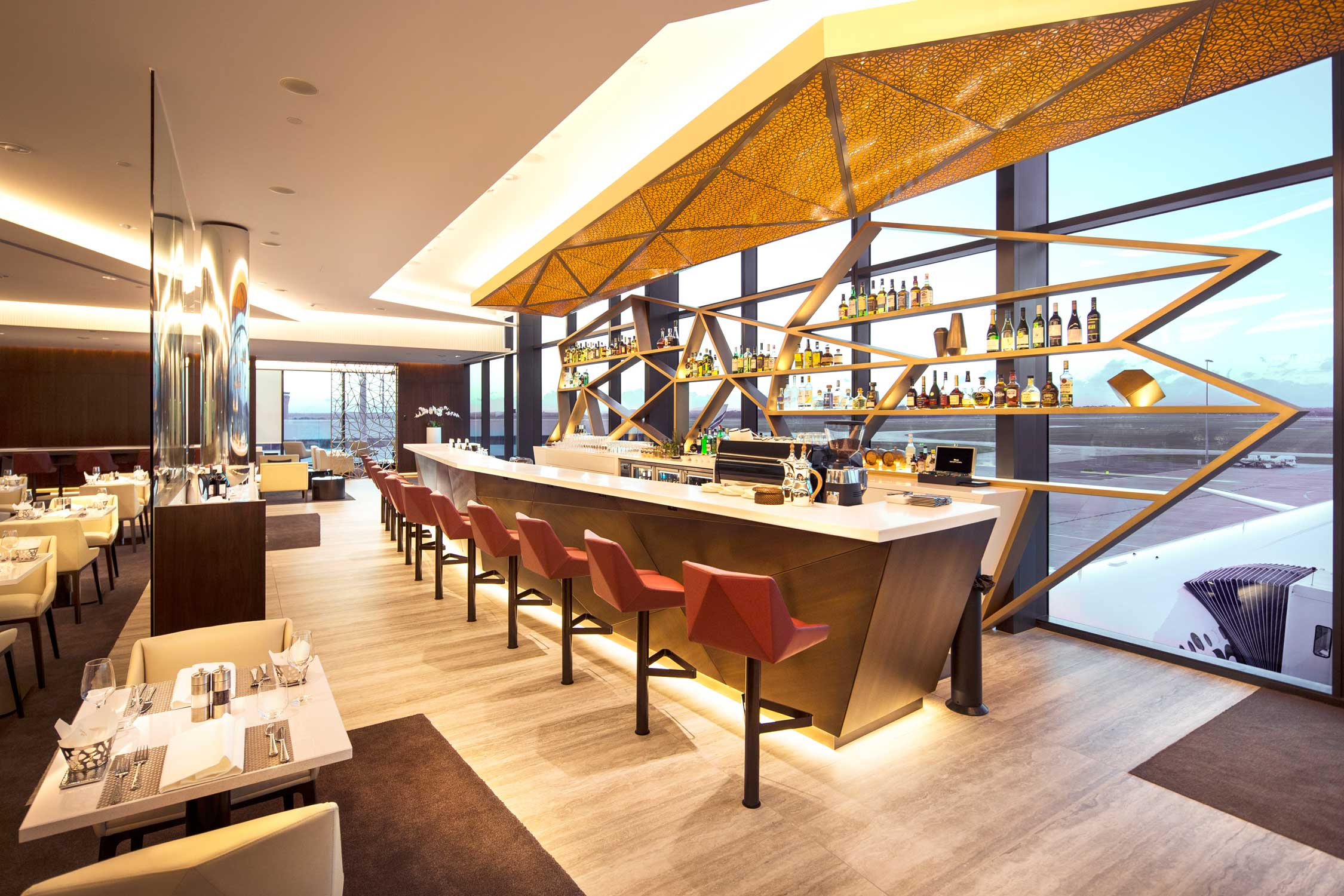 Etihad Airways Premium Melbourne Lounge