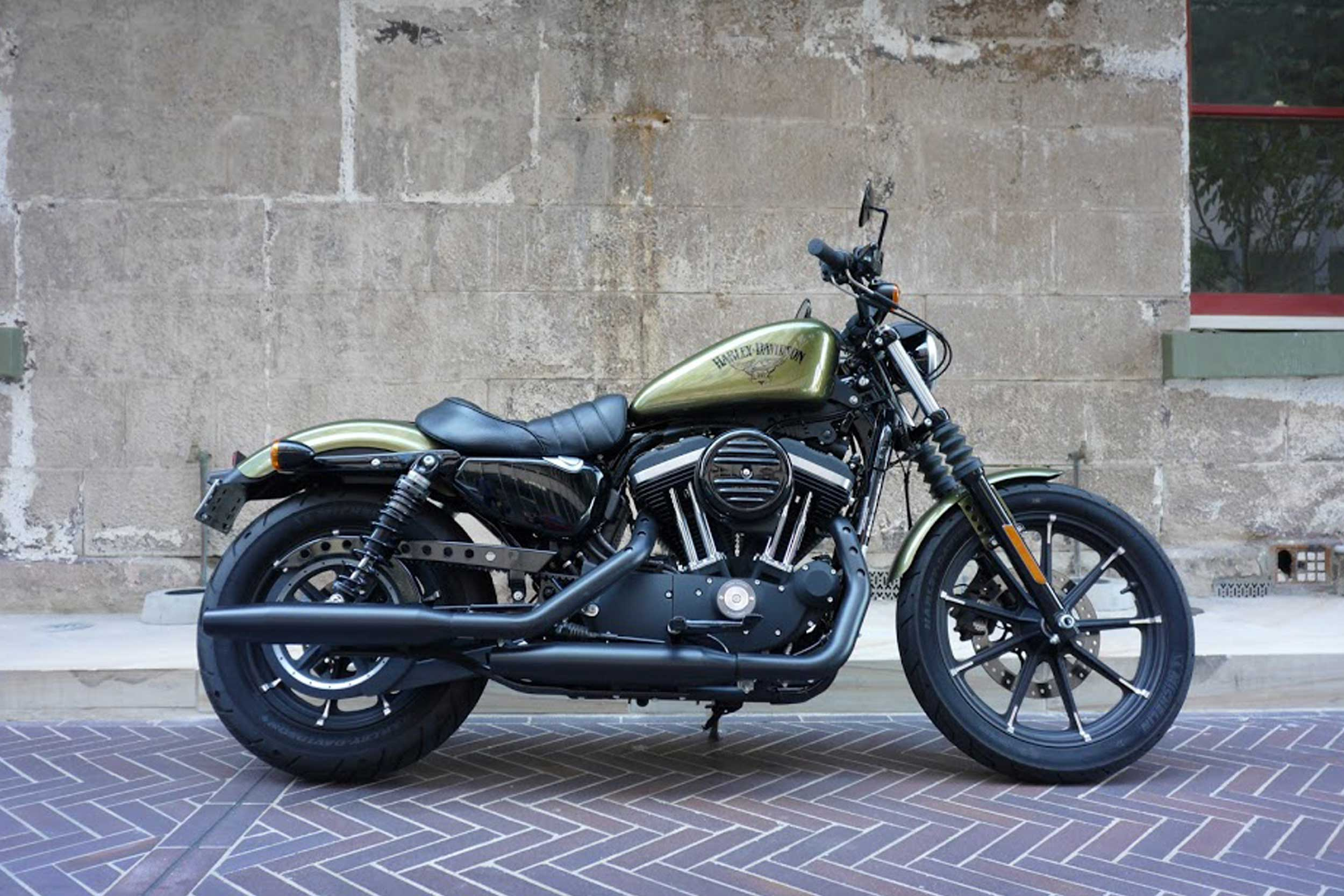 Harley Davidson  Iron  Review
