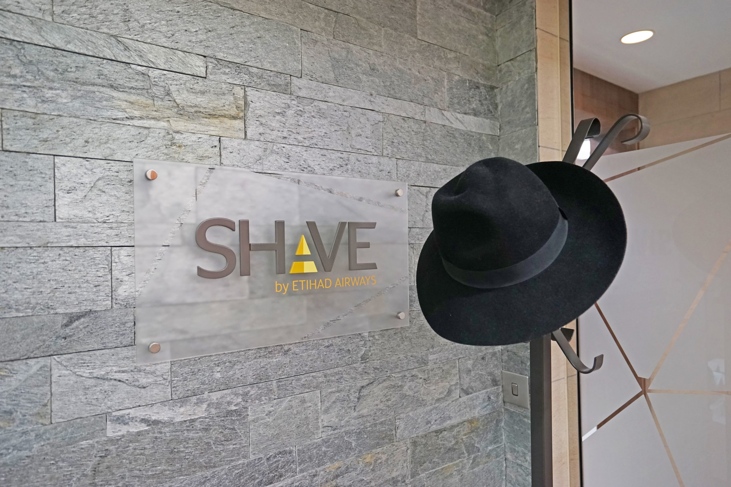 Etihad Airways Abu Dhabi Arrivals Lounge Shave