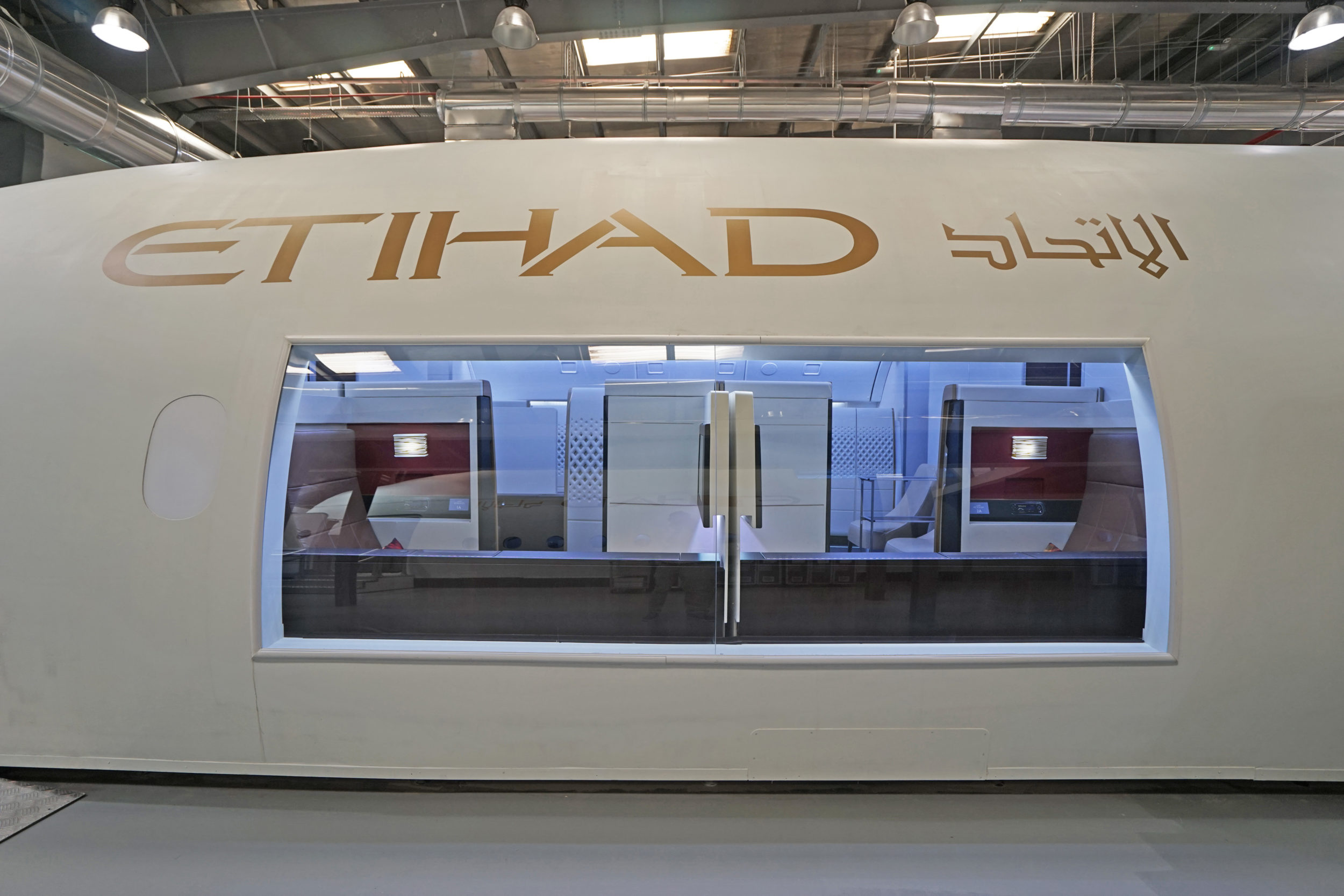 Etihad Airways Innovations Centre, A380 Replica