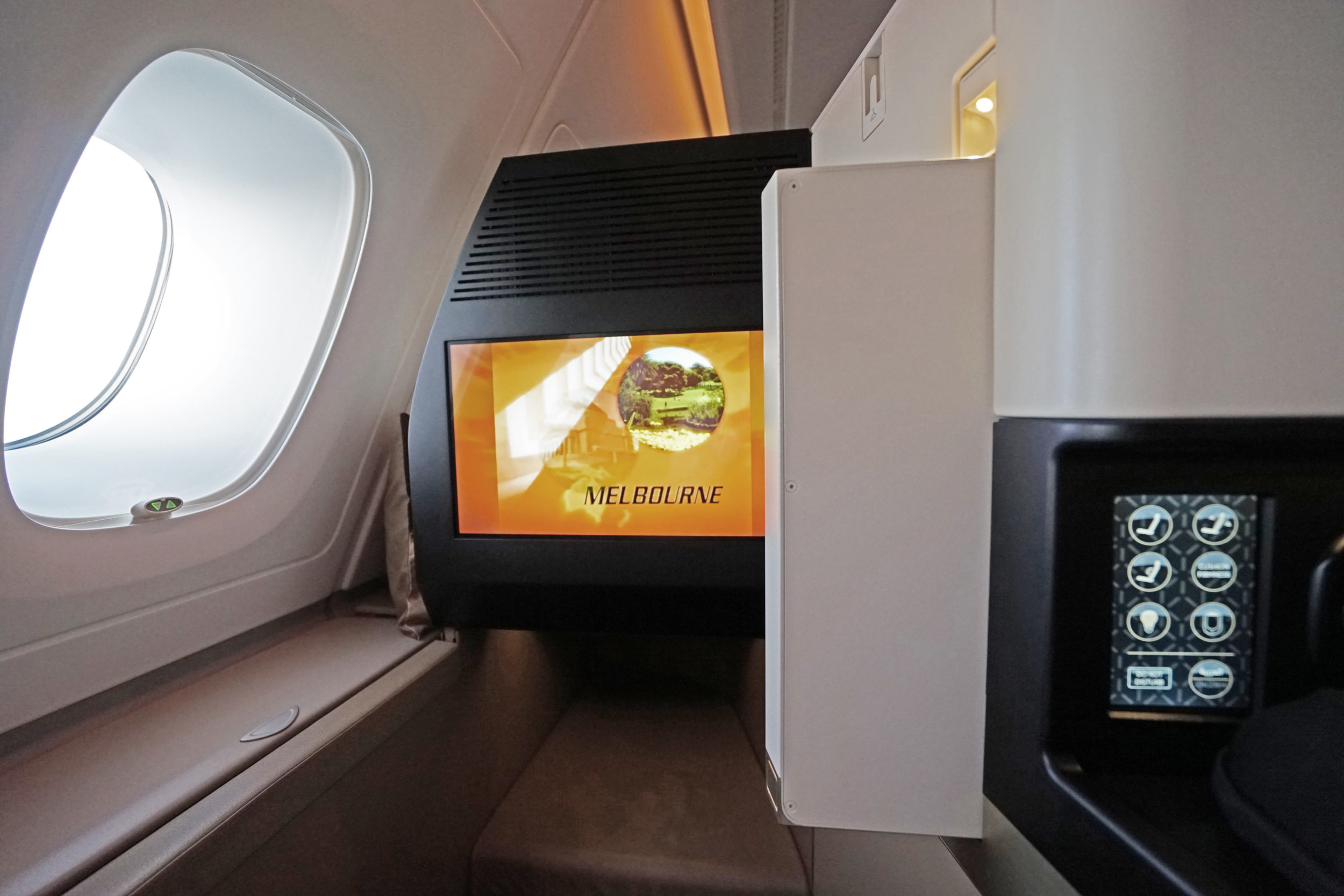Etihad Airways Business Class Seat