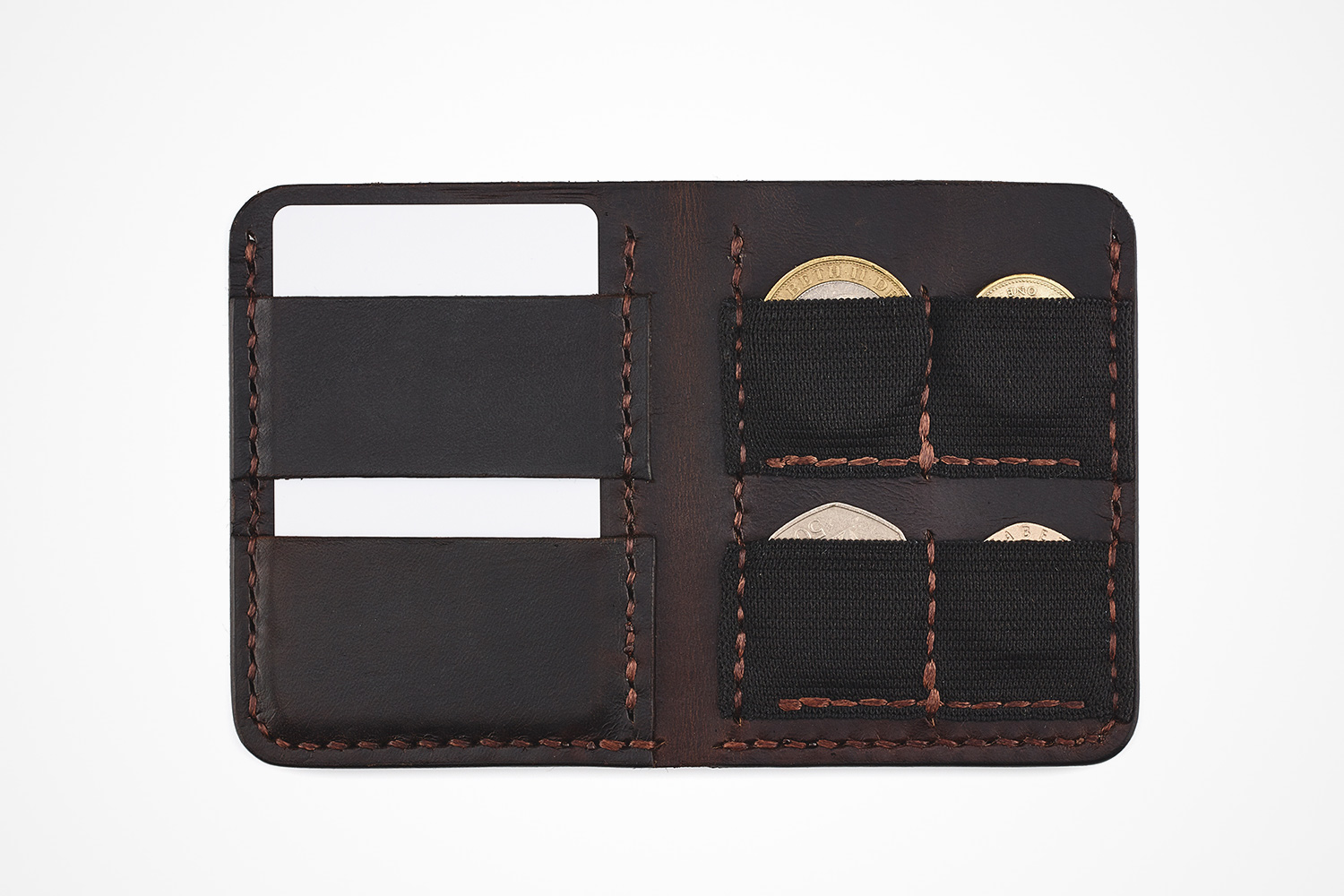 Disc Brand Co.'s Minimalist Coin Wallet | Holds Cash, Cards & Change
