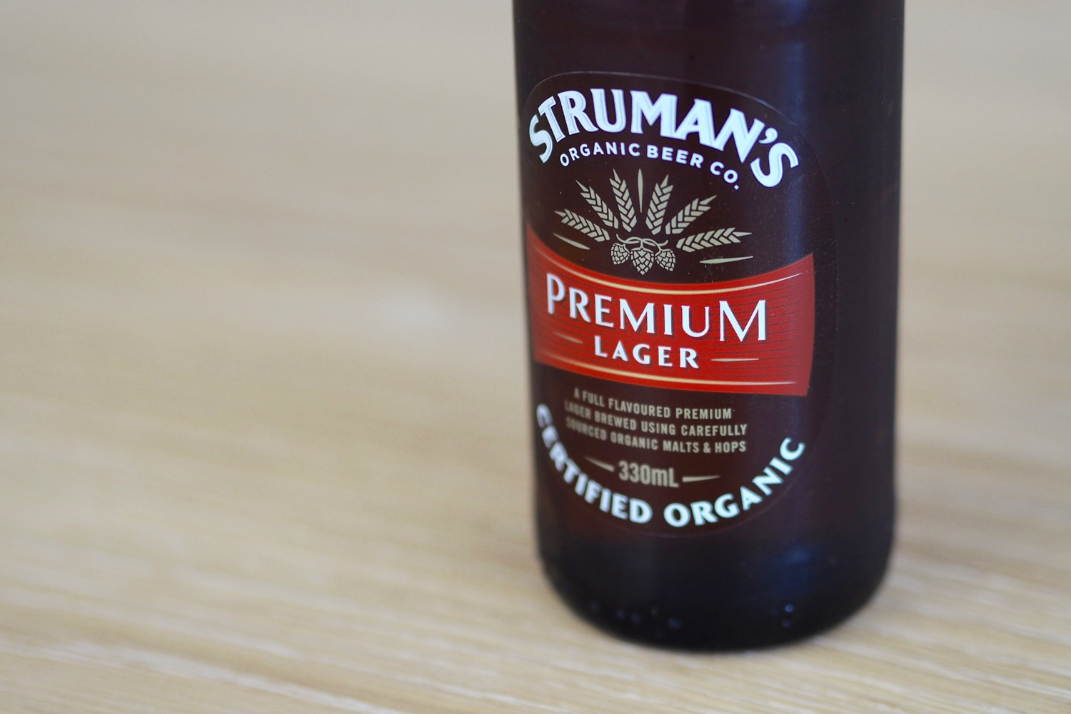 Struman's Organic Beer Co. Premium Lager Review