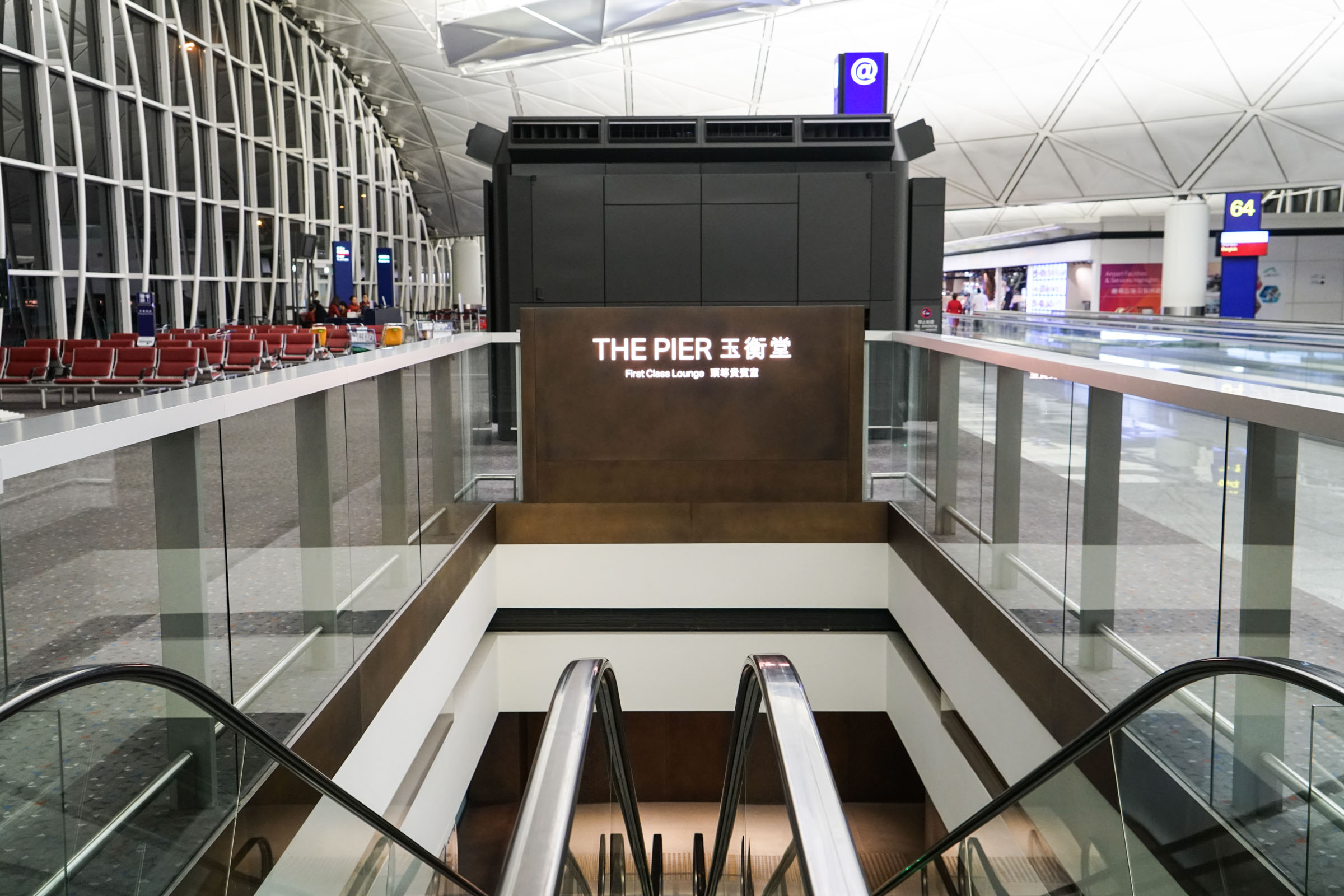 Cathay Pacific's The Pier, First