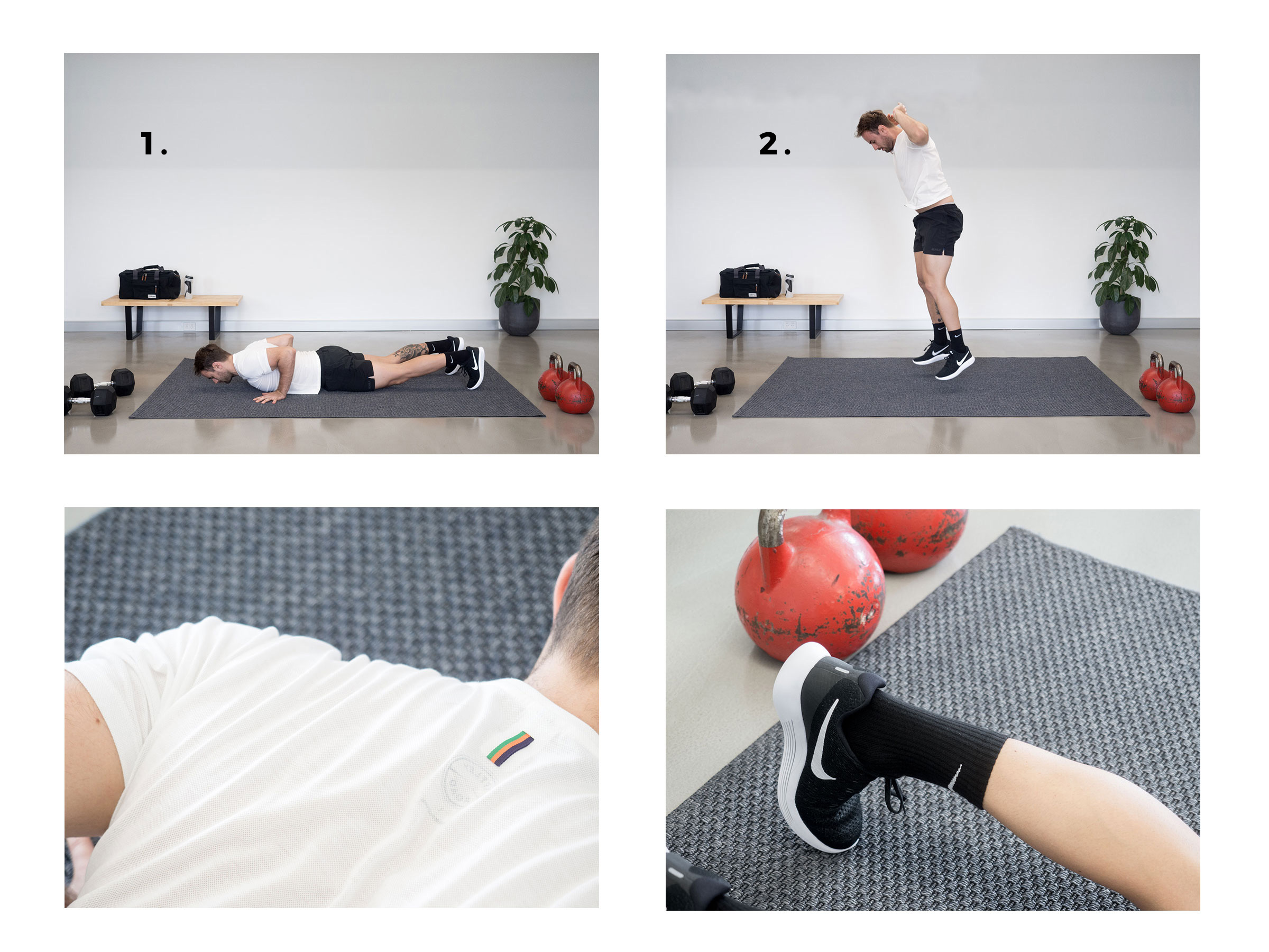 A Simple Workout Routine When You're Low On Space & Equipment