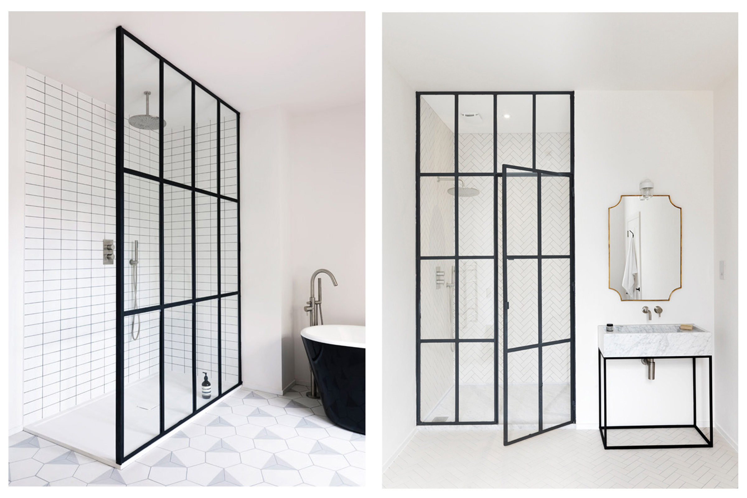 5 Sleek & Minimal Bathroom Designs