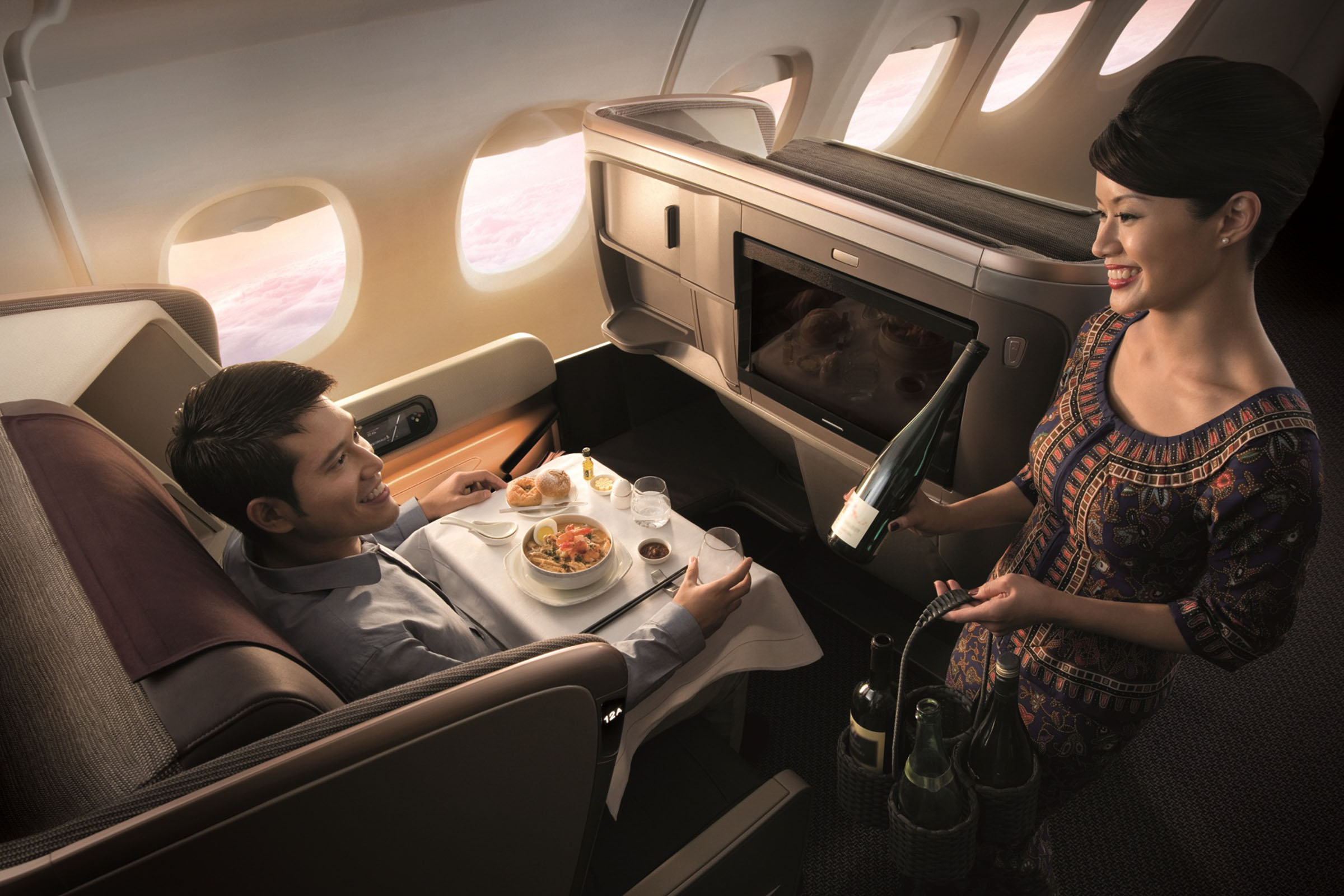 Australian Themed Menu for Singapore Airlines' 50 Year Anniversary