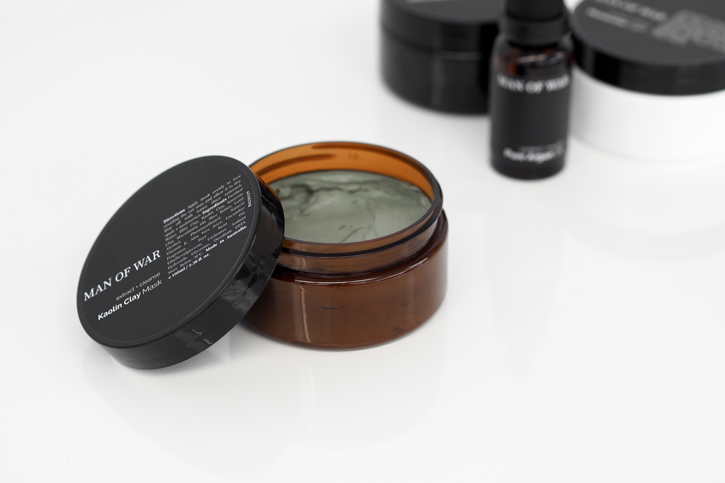 Simple & Effective Skin Care | Man Of War