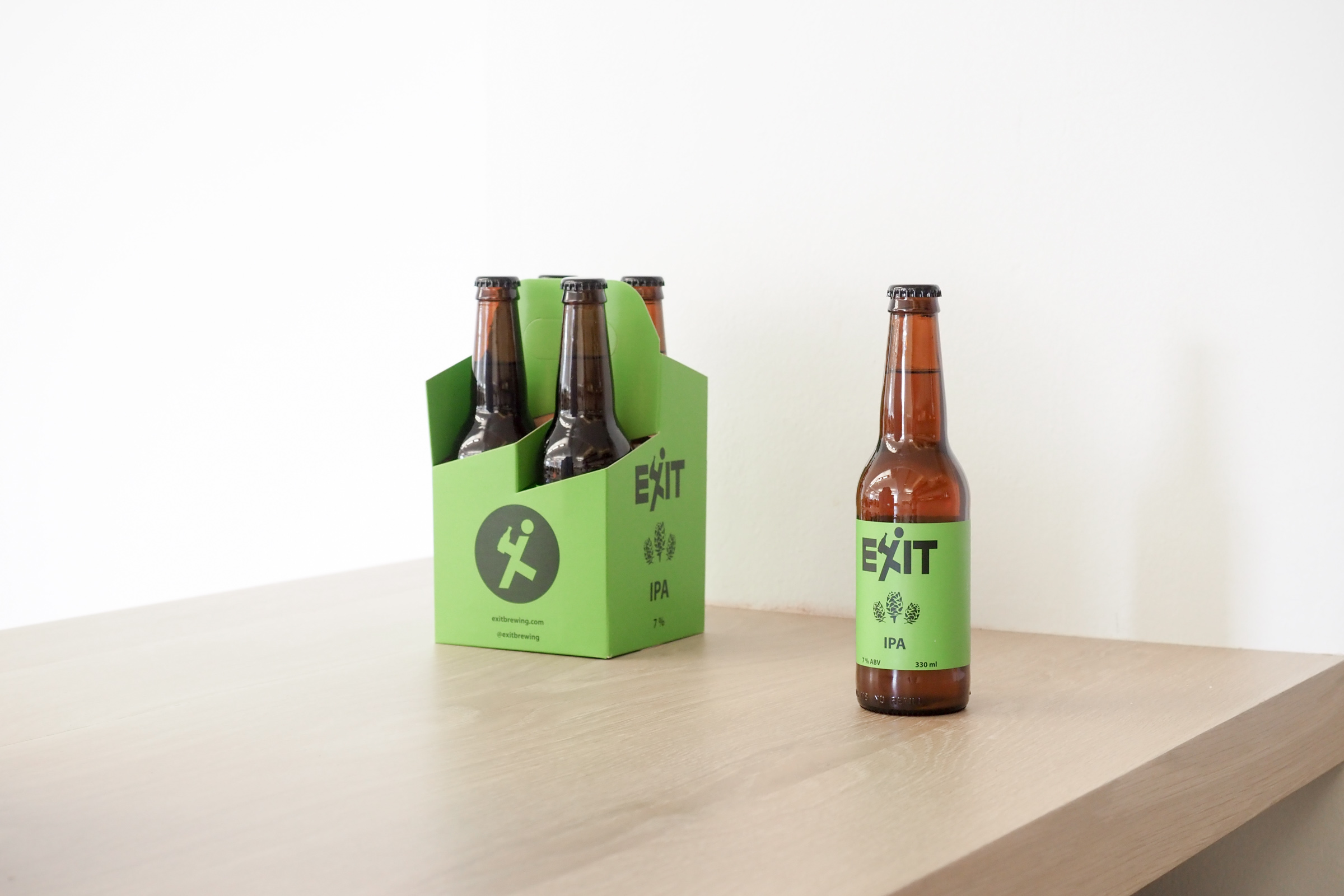 Monthly Beer Digest: Exit IPA Review - Hey Gents