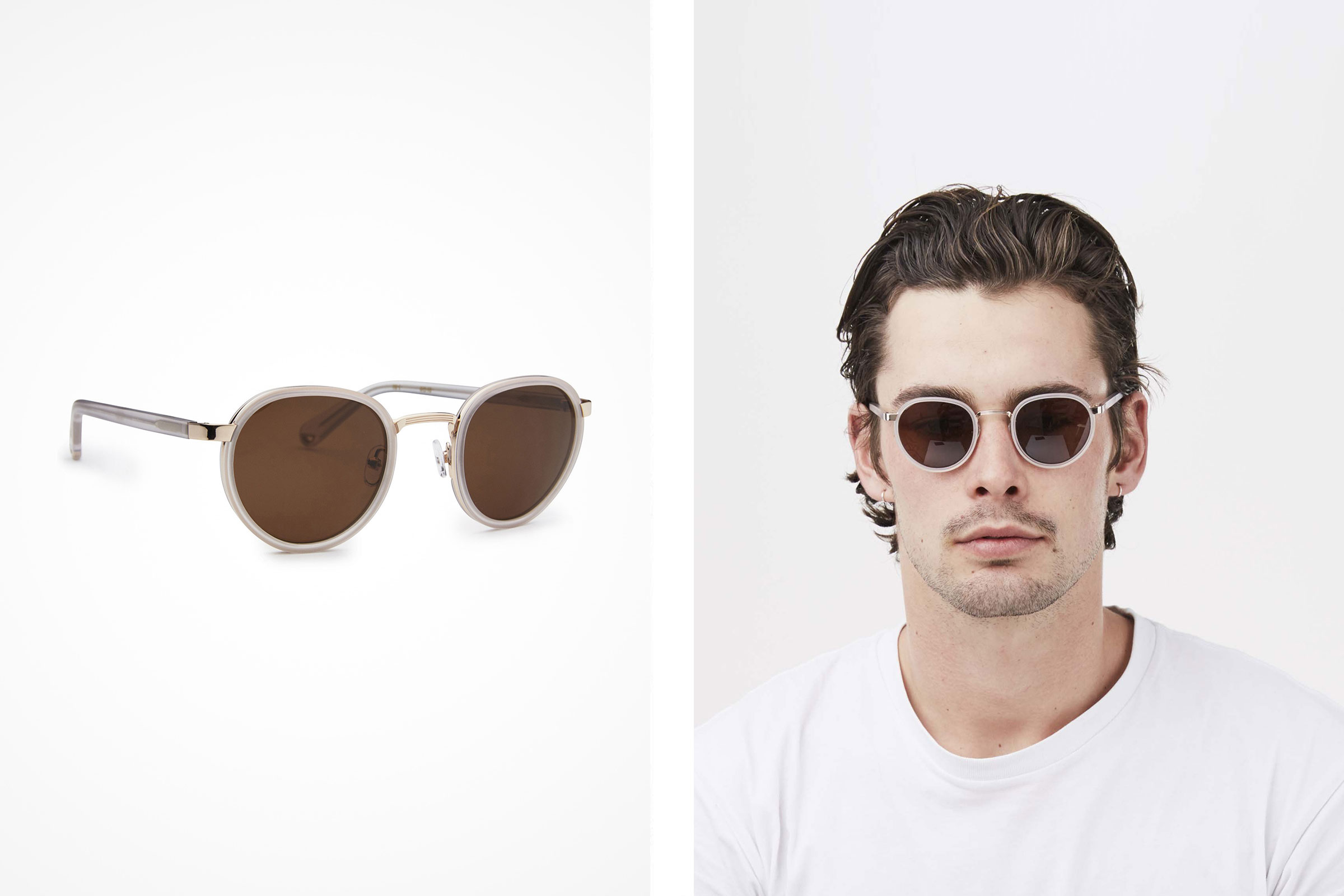 Transparent Frame Sunglasses | Pacifico Optical