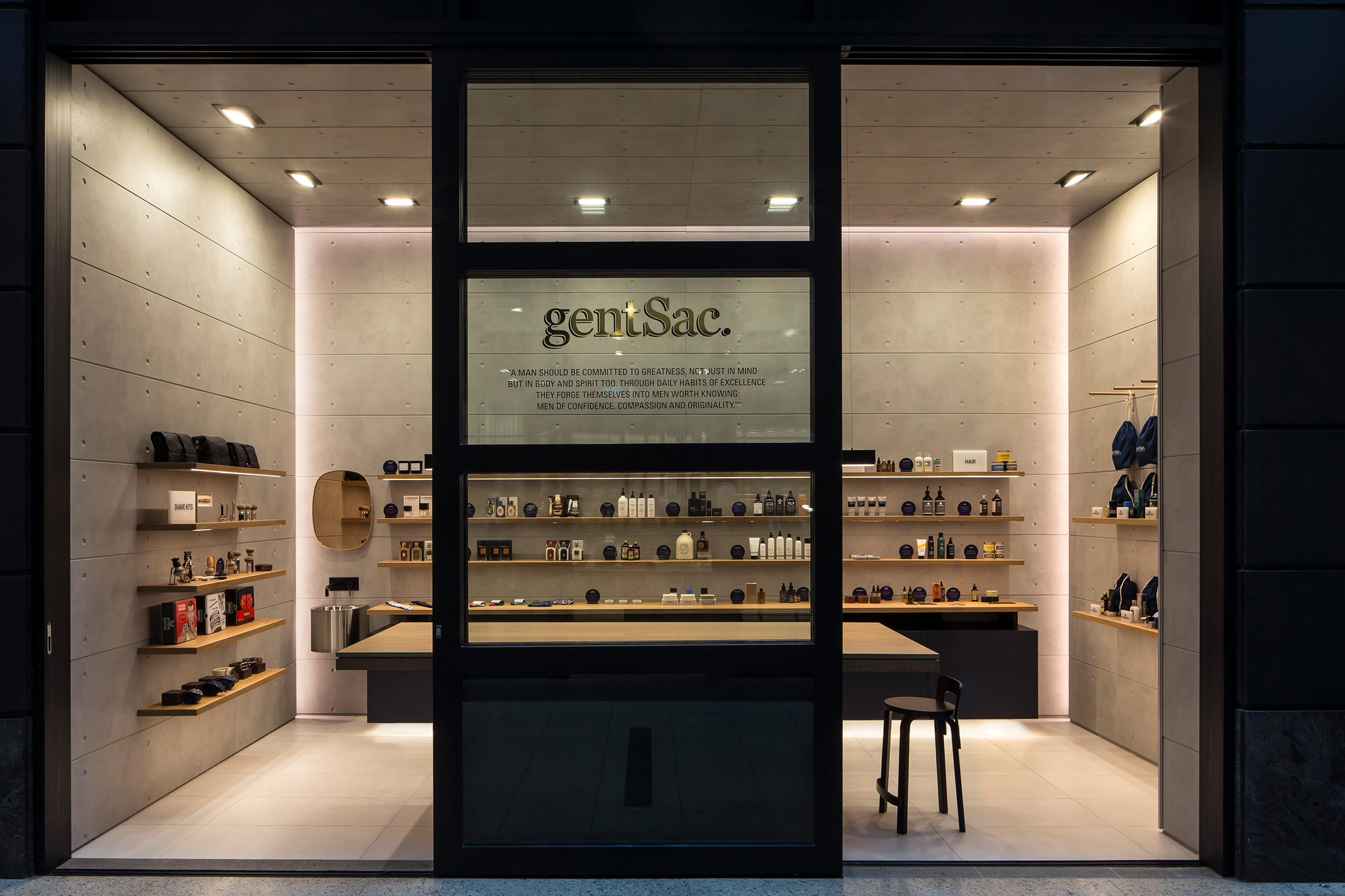 A New Men's Grooming Store In Sydney | gentSac Opens Flagship